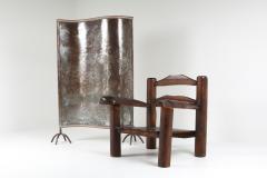 Rustic Wooden Wabi Sabi Lounge Chairs 1950s - 1248833