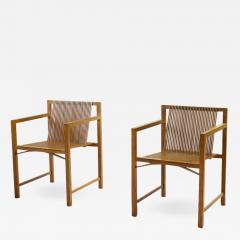 Ruud Jan Kokke Pair of Ruud Jan Kokke slat chairs The Netherlands 1986 - 1003247