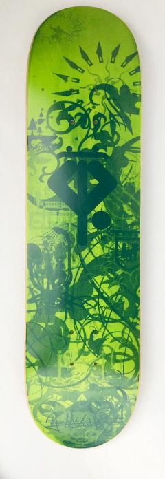 Ryan McGinness Growing Handplants Ryan McGinness Skateboard Deck Limited Edition - 1359976