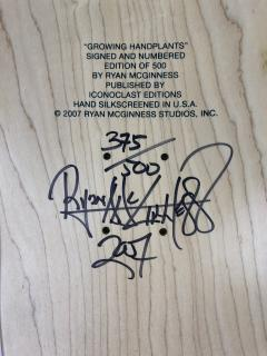 Ryan McGinness Growing Handplants Ryan McGinness Skateboard Deck Limited Edition - 1359982