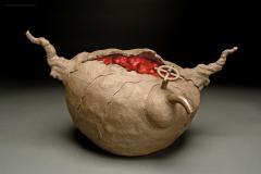 Ryo Toyonaga Ceramic Sculpture by Ryo Toyonaga 2002 - 1343763