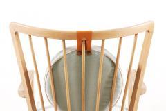 S ren Hansen Pair of S ren Hansen Lounge Chairs for Fritz Hansen 1940s - 1063379