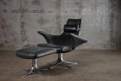 SEAGULL CHAIR AND OTTOMAN - 1052532