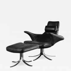SEAGULL CHAIR AND OTTOMAN - 1194581