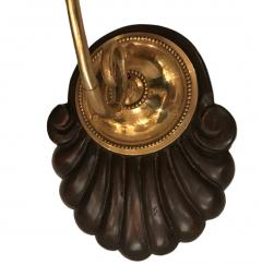 SET OF ANGLO INDIAN AMBER GLASS SCONCES - 864203