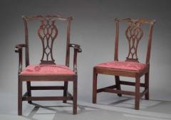 SET OF EIGHT CHIPPENDALE CHAIRS - 1401158