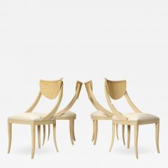 SET OF FOUR DECORATIVE SIDE CHAIRS - 1497189
