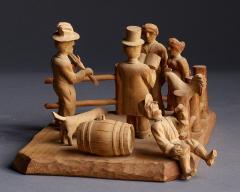 SHOTGUN WEDDING CARVING - 1820039