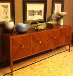 SIDEBOARD 4 DOORS WITH BRASS INSERTS - 2003042