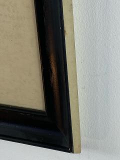SIGNED ART DECO FUTURIST CITY BLACK AND WHITE WATERCOLOR - 1208863