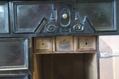 SIR WALTER SCOTT FLEMISH EBONY VENEERED TABLE CABINET ON STAND - 924736