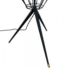 STANDING LAMP WITH MAGAZINE RACK FRANCE 1950 - 2110056