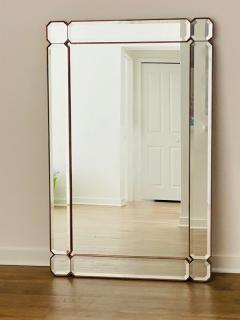 STUNNING MODERN FACETED AND BEVELED GEMSTONE CUT MIRROR - 1684525