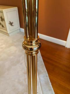 STUNNING MURANO GLASS AND BRASS FLOOR LAMP - 1909890