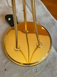 STUNNING MURANO GLASS AND BRASS FLOOR LAMP - 1909891