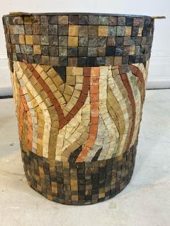 SUPERB MID CENTURY COLORFUL MOSAIC ZODIAC COFFEE TABLE - 1951547
