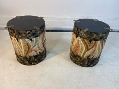 SUPERB MID CENTURY COLORFUL MOSAIC ZODIAC COFFEE TABLE - 1951586
