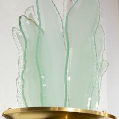SWEDISH ART DECO SCONCE WITH GLASS FLAMES - 1244468