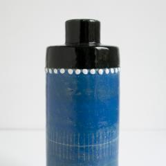 SYLVIA LEUCHOVIOUS Scandinavian MODERN SYLVIA LEUCHOVIUS VASE AND BOWL In blue Rorstrand Sweden - 1189807