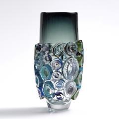 Sabine Lintzen Bright Field High Shape with Green Diamonds - 1412533