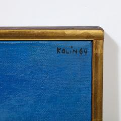Sacha Kolin Sacha Kolin Untitled Abstract Acrylic on Canvas 1964 - 1950183