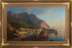 Sail Boats and Fishermen on the Coast of Capri - 1570280