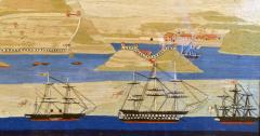 Sailors Woolwork or Woolie of a Royal Navy Squadron at Bocca Tigris - 1614759