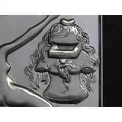 Salvador Dal Homage to Philosophy silver bas relief - 1049756