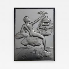 Salvador Dal Homage to Philosophy silver bas relief - 1049959