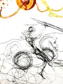 Salvador Dal Salvador Dali Apricot Original Hand Signed Lithograph - 1049280