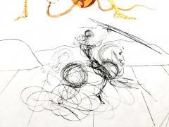 Salvador Dal Salvador Dali Apricot Original Hand Signed Lithograph - 1049282