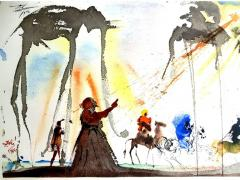 Salvador Dal Salvador Dali Biblia Sacra Lithograph - 1049687