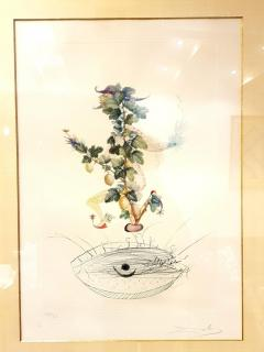 Salvador Dal Salvador Dali Currants Reverence Original Hand Signed Lithograph - 1049308