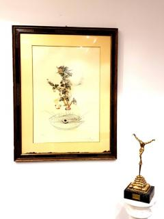 Salvador Dal Salvador Dali Currants Reverence Original Hand Signed Lithograph - 1049309