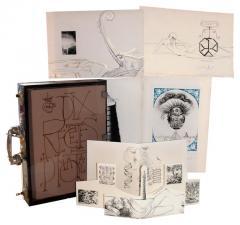 Salvador Dal Salvador Dali Dix Recettes d Immortalite Original Signed Artworks - 1049817