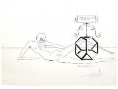 Salvador Dal Salvador Dali Dix Recettes d Immortalite Original Signed Artworks - 1049820