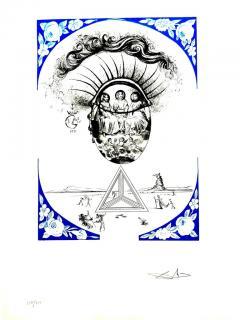 Salvador Dal Salvador Dali Dix Recettes d Immortalite Original Signed Artworks - 1049823