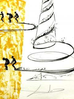 Salvador Dal Salvador Dali Dix Recettes d Immortalite Original Signed Artworks - 1049826