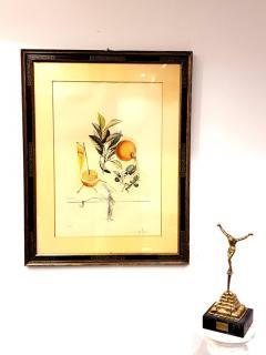 Salvador Dal Salvador Dali Erotic Grapefruit Original Hand Signed Lithograph - 1049396