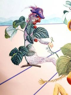 Salvador Dal Salvador Dali Fruits With Holes Original Hand Signed Lithograph - 1049434