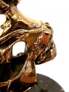 Salvador Dal Salvador Dali Madonna of Port Lligat Signed Bronze Sculpture - 1049870