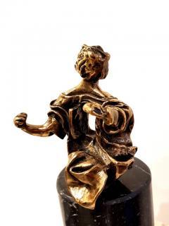 Salvador Dal Salvador Dali Madonna of Port Lligat Signed Bronze Sculpture - 1049871