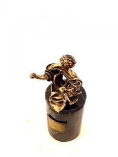 Salvador Dal Salvador Dali Madonna of Port Lligat Signed Bronze Sculpture - 1049872