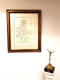 Salvador Dal Salvador Dali San Francisco City Hall Original Handsigned Etching - 1050474