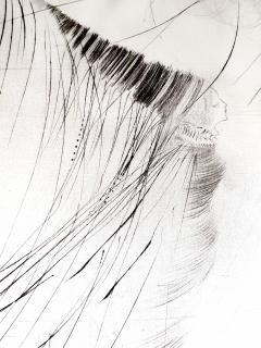Salvador Dal Salvador Dali The Fairy Original Etching on Silk - 1048113