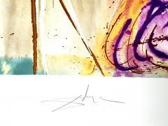 Salvador Dal Salvador Dali Unicorn Original Lithograph - 1048139