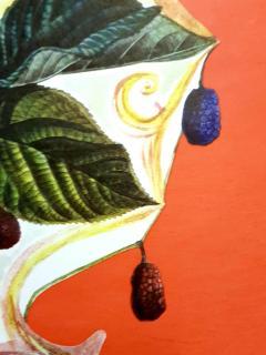 Salvador Dal Salvador Dali Wild Blackberries Original Hand Signed Lithograph - 1049733