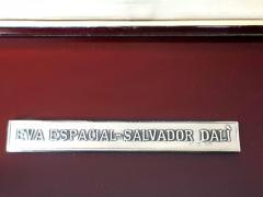 Salvador Dal Space Eve sillver bas relief - 1049764