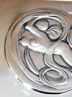 Salvador Dal Space Eve sillver bas relief - 1049766