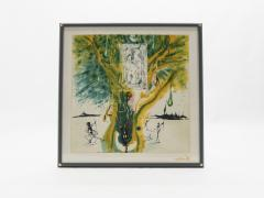 Salvador Dal The Emerald Of The Tablet Salvador Dali Silk Serigraphy 1976 1989 2000  - 1072607